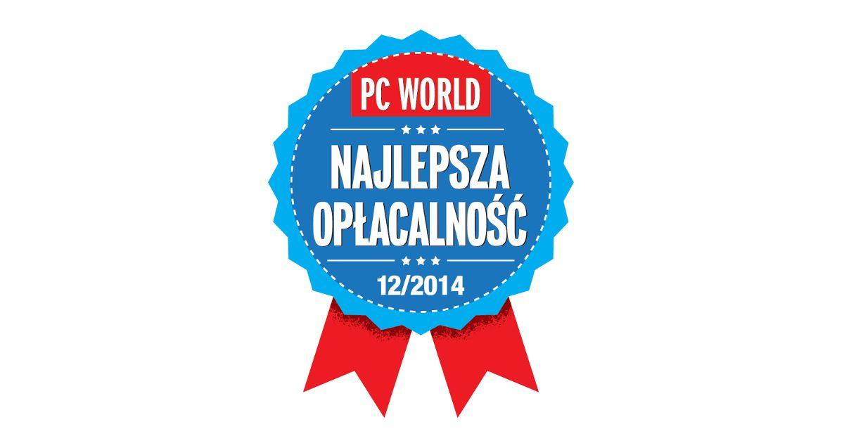"""Wyróżnienie PC World """"Najlepsza opłacalnosć"""""""