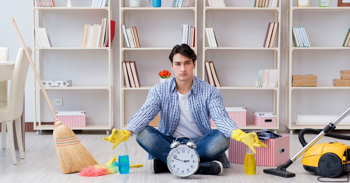 Nowoczesne pomoce domowe, czyli jak posprzątać dom w 5 minut