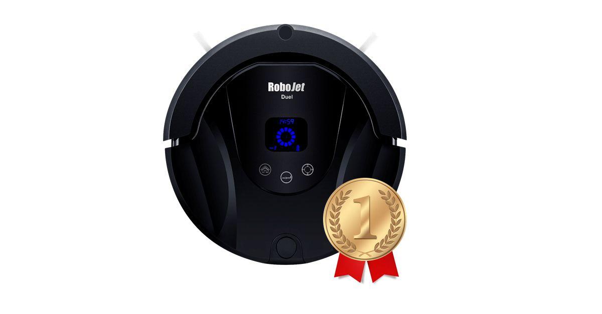 RoboJet Duel jako najczęściej wybierany odkurzacz automatyczny/robot sprzątający